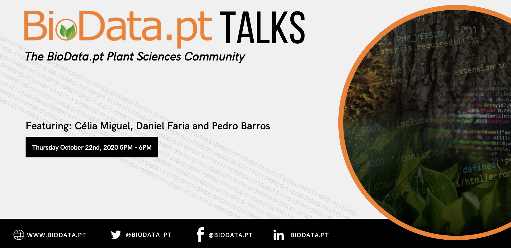 BioData.pt Talks: Plant Sciences